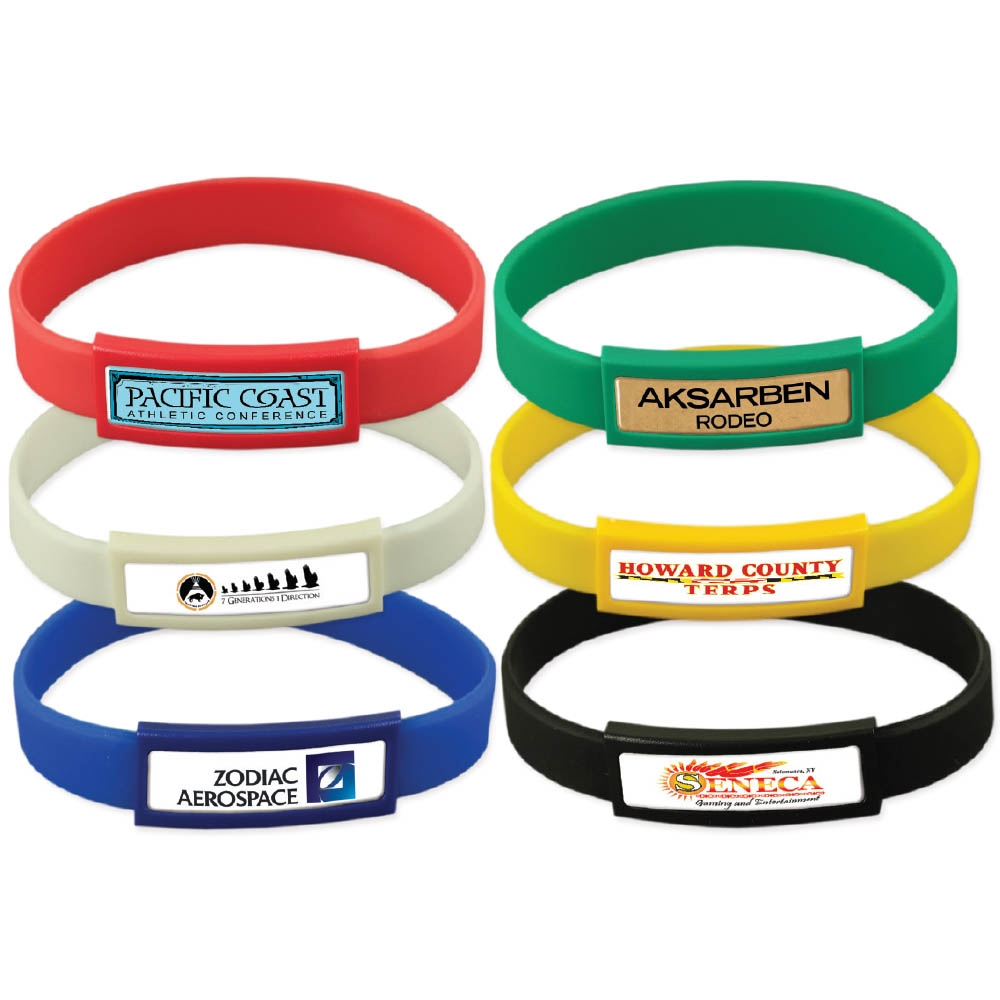 Express Color Silicone Wristbands