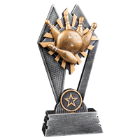 Sun Ray Bowling Trophy (2 sizes available)