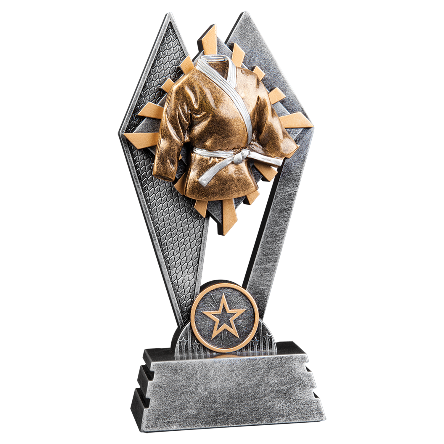 Sun Ray Martial Arts Trophy (2 sizes available)