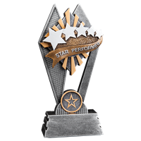 Sun Ray Star Performer Trophy (2 sizes available)