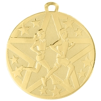 "2"" Superstar Series Cross Country Medal SS403"