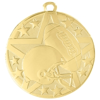 "2"" Superstar Series Football Medal SS404"