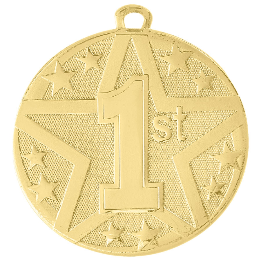 "2"" Superstar Series 1st Place Medal SS409"