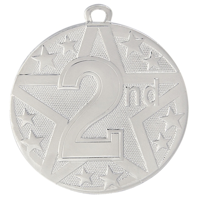"2"" Superstar Series 2nd Place Medal SS410"