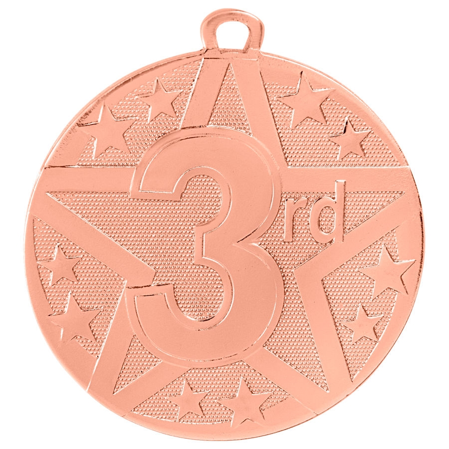 "2"" Superstar Series 3rd Place Medal SS411"