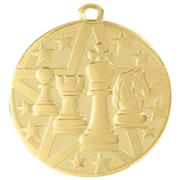 "2"" Superstar Series Chess Medal SS502"