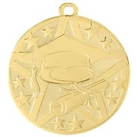 "2"" Superstar Series Graduate Medal SS503"