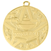 "2"" Superstar Series Honor Roll Medal SS504"
