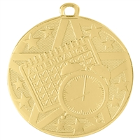 "2"" Superstar Series Perfect Attendance Medal SS509"