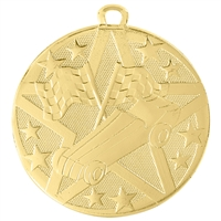 "2"" Superstar Series Pinewood Derby Medal SS510"