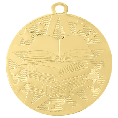 "2"" Superstar Series Reading Medal SS511"