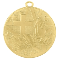 "2"" Superstar Series Religion Medal SS512"