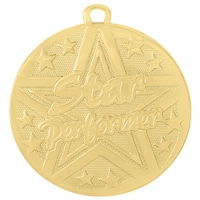 "2"" Superstar Series Star Performer Medal SS515"