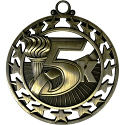 "2-1/2"" Super Star 5K Medal SSM-70"