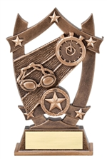 "6-1/4"" Sport Stars Swimming Trophy"