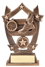 "6-1/4"" Sport Stars Track Trophy"