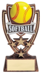 4-Star Series Softball Trophy