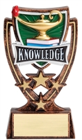 4-Star Series Lamp of Knowledge Trophy