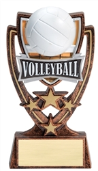 4-Star Series Volleyball Trophy