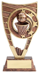 Shield Series Basketball Trophy