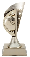 Gold Star Baseball Trophy