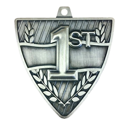 "2-1/2"" Shield 1st Place Medal"