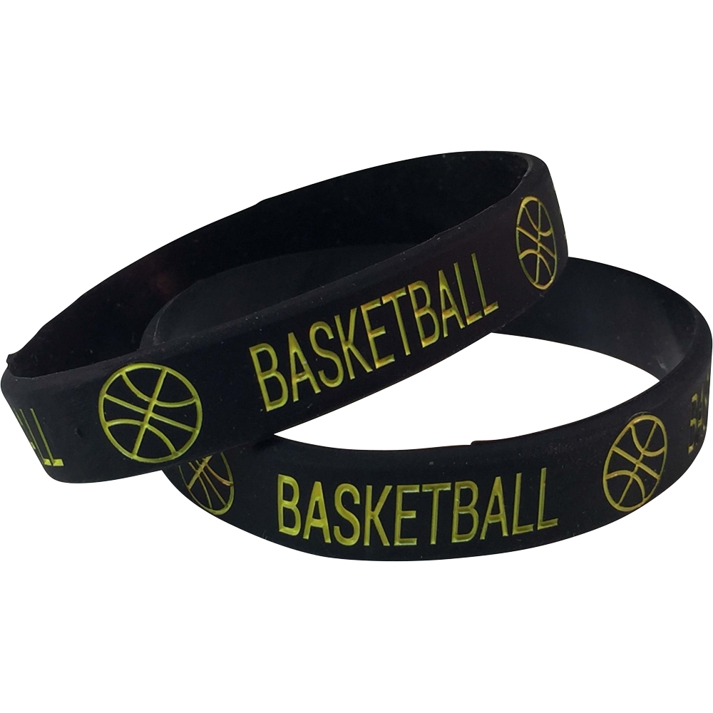 Silicone Basketball Wrist Band
