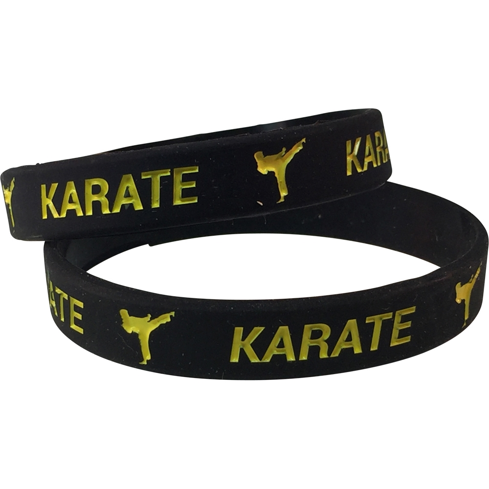 Silicone Karate Wrist Band