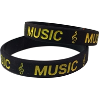 Silicone Music Wrist Band