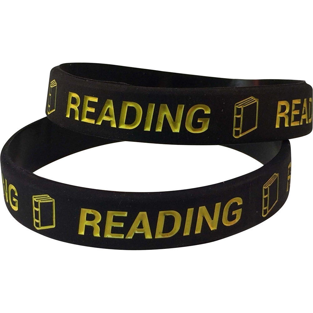 Silicone Reading Wrist Band