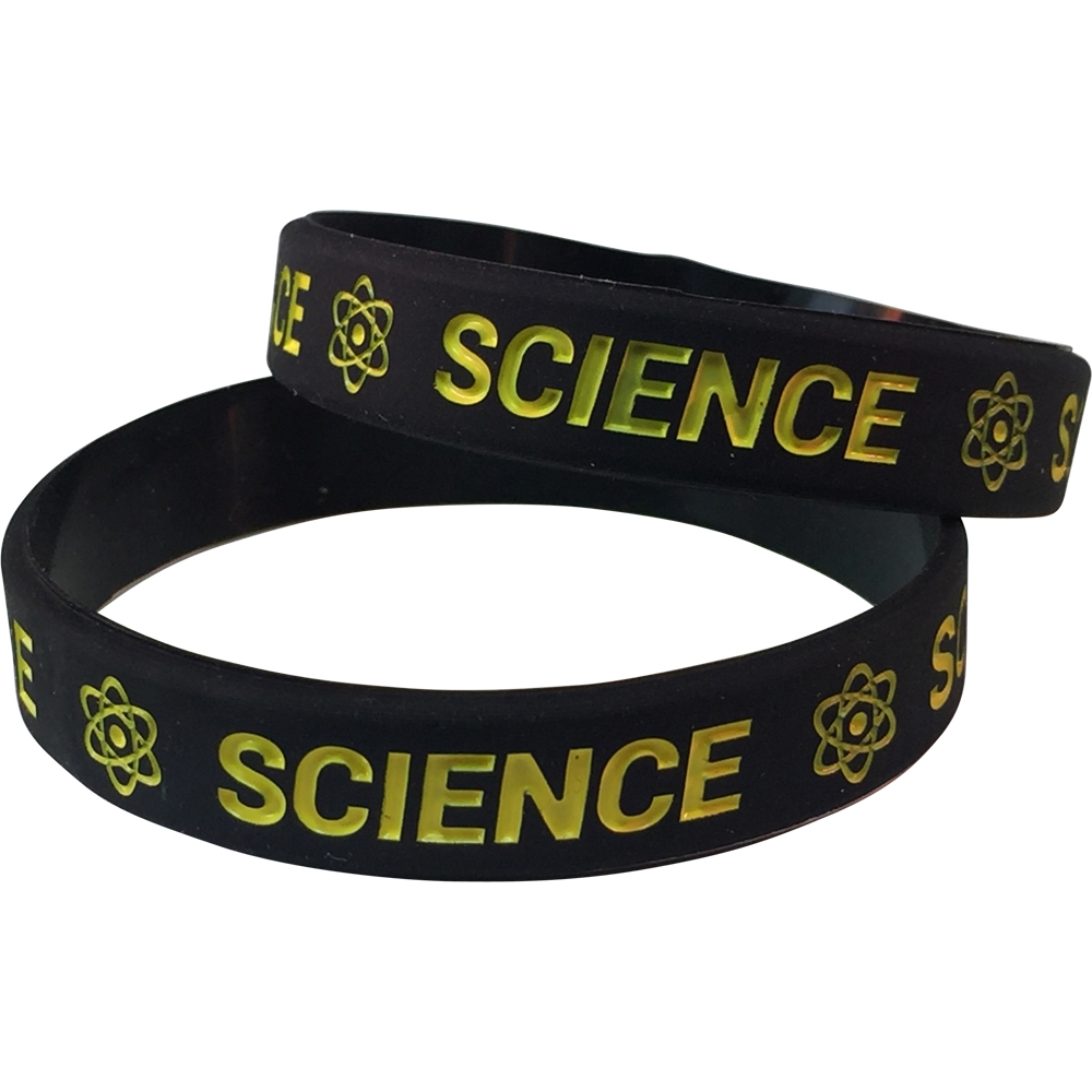 Silicone Science Wrist Band
