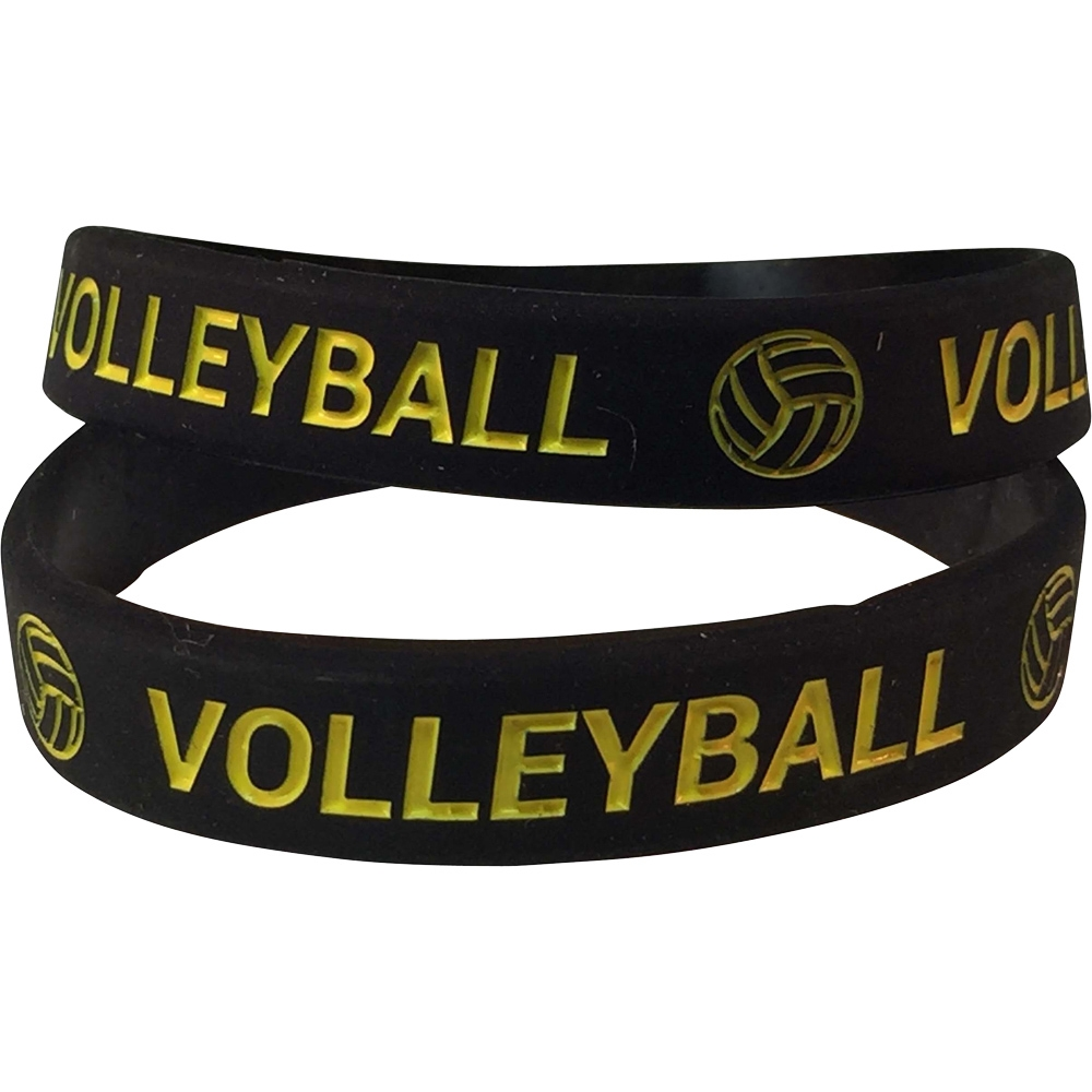 Silicone Volleyball Wrist Band