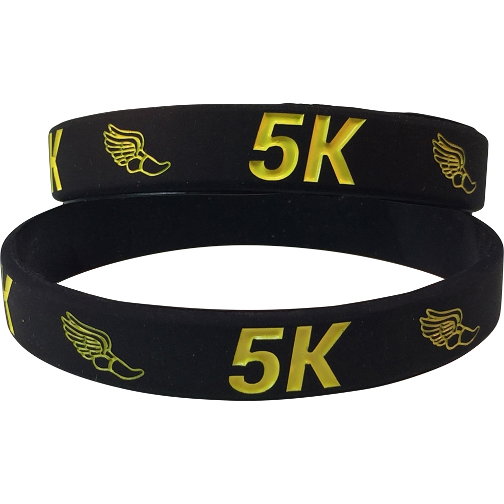 Silicone 5K Wrist Band
