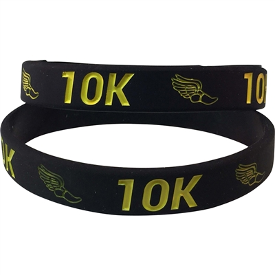 Silicone 10K Wrist Band