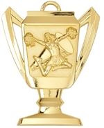 "2-3/4"" Trophy Cheerleading Medal TM05"