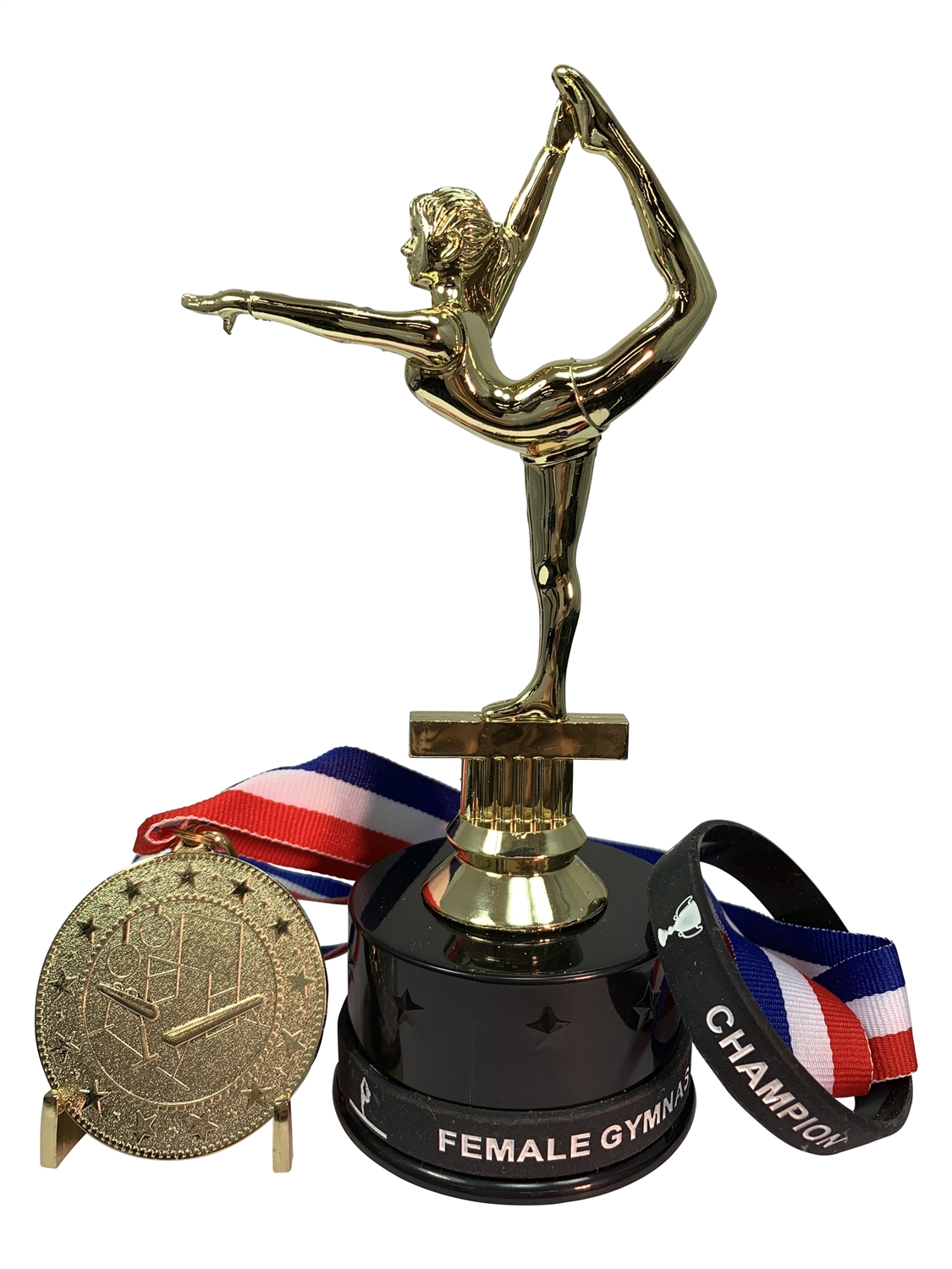 Female Gymnastics Champion Trophy Pack