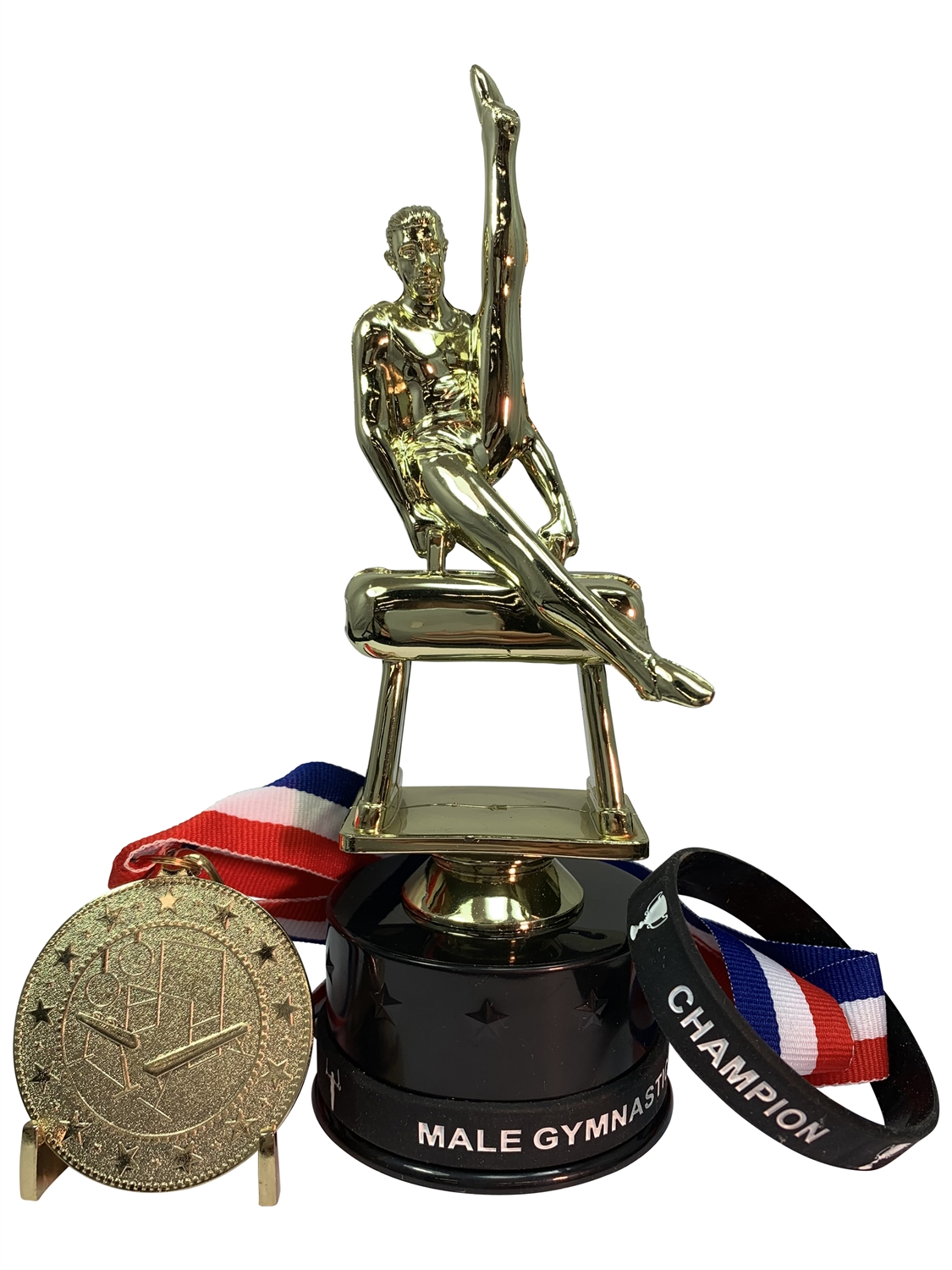 Male Gymnastics Champion Trophy Pack