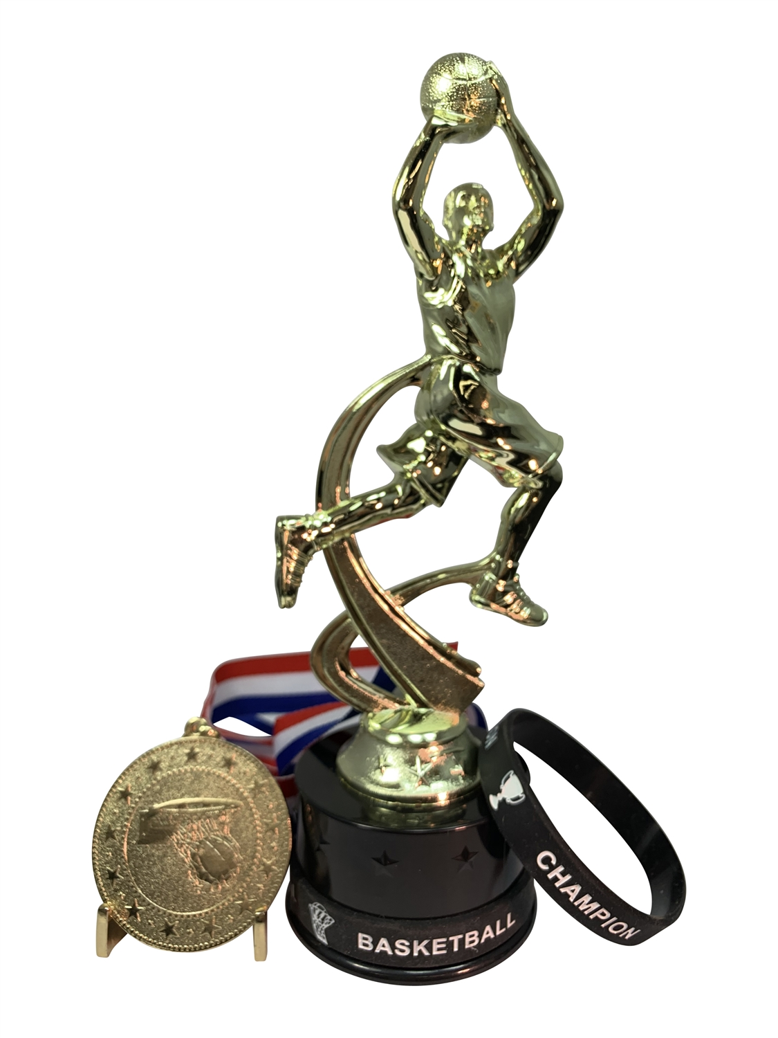 Boys Basketball Champion Trophy Pack