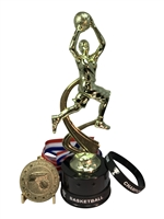 Girls Basketball Champion Trophy Pack