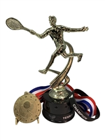 Male Tennis Champion Trophy Pack