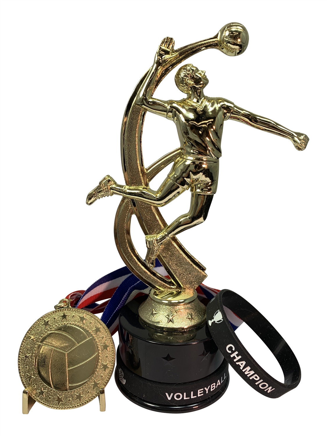 Boys Volleyball Champion Trophy Pack