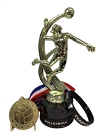 Girls VolleyballbChampion Trophy Pack