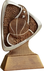 "5-1/2"" Triad Basketball Trophy"
