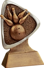 "5-1/2"" Triad Bowling Trophy"