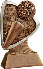 "5-1/2"" Triad Cheerleading Trophy"