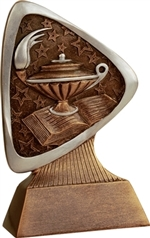 "5-1/2"" Triad Lamp of Knowledge Trophy"