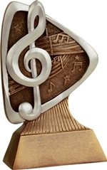 "5-1/2"" Triad Music Trophy"