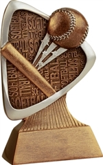 "5-1/2"" Triad Softball Trophy"