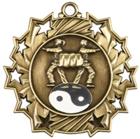 "2-1/4"" Ten Star Martial Arts Medal TS410"