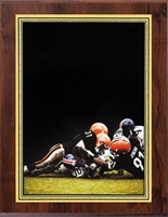 "5"" x 7"" Hi-Def Football Plaque VL57-ZA46FTBL"